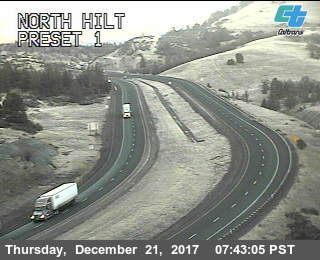 CalTrans - I-5 at Hilt facing north