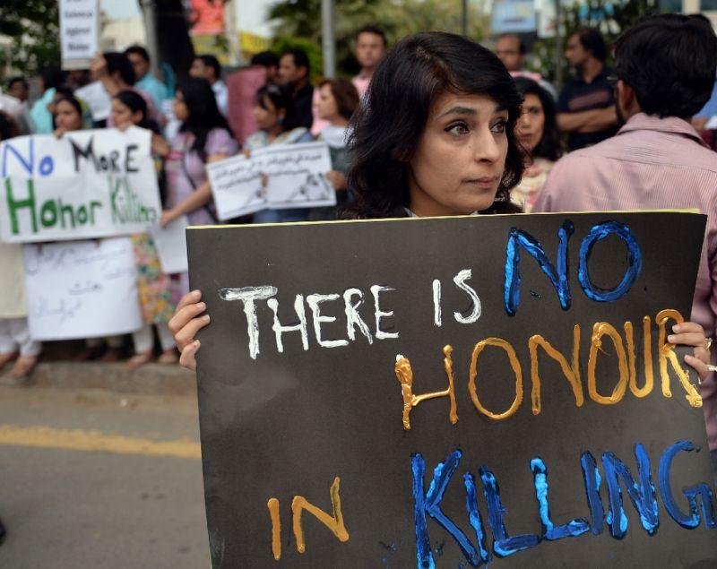 Pakistani human rights activists