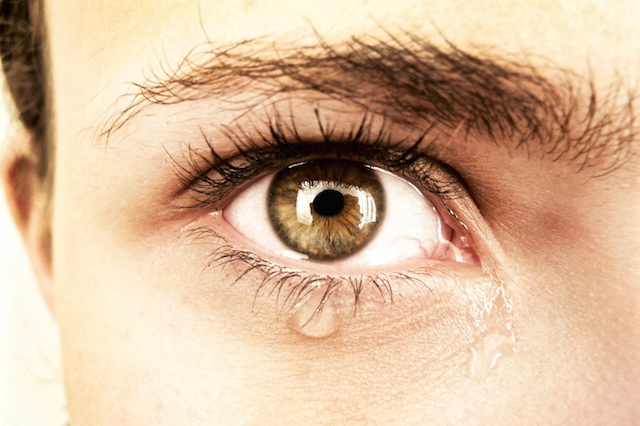 Tears - crying - cry - woman - grief - compassion