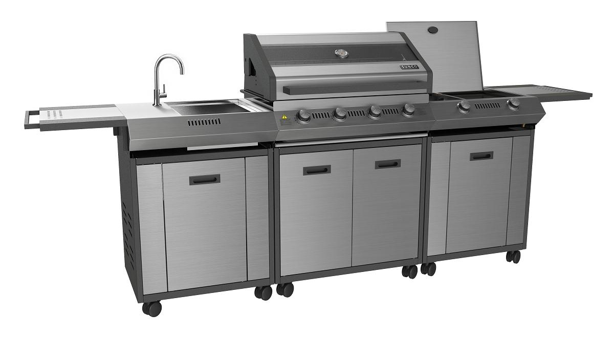 Image of: Master Forge Modular Outdoor Kitchen