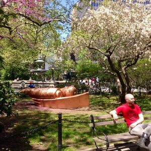 A Copper Statue Has Been Swiped From City Hall Park