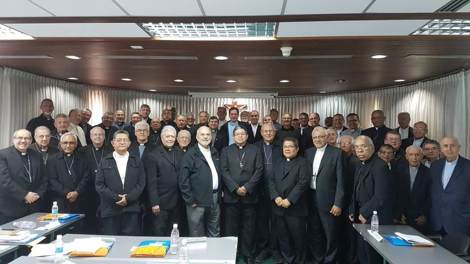 La nueva junta directiva de la Conferencia Episcopal Venezolana (CEV), para el trienio 2018 ? 2021 escogió como presidente al Monseñor José Luis Azuaje.