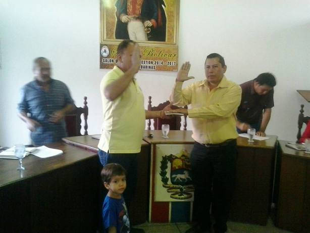 El concejal Yoryis Osuna, es el nuevo presidente del Concejo Municipal de Pedraza