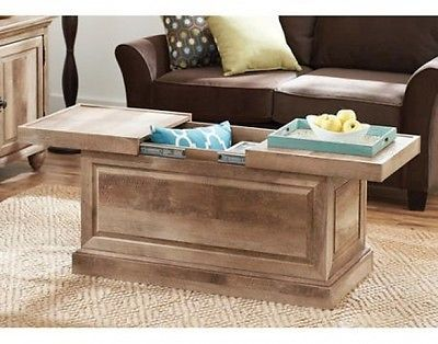 2 storage trunk coffee table