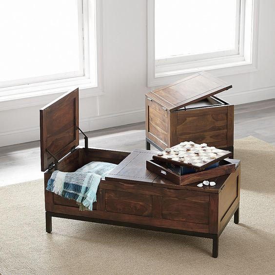 5 storage trunk coffee table