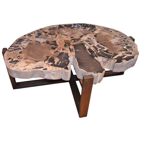 5 tree trunk coffee table