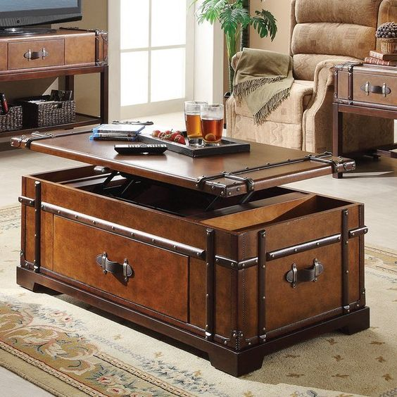 5 steamer trunk coffee table