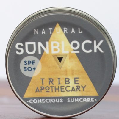 Natural Zinc Sunblock
