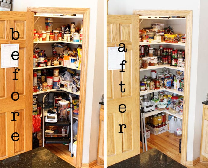 Kitchen Pantry Organization!
