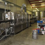 Bottling line at Mission Winery