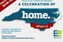 #NCGala13  / The biggest Equality event of the year will take place in Greensboro, NC, on Saturday, November 9!  Join us by registering here today:https://equalityncfoundation.org/gala/attend