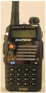 Baofeng UV-5RMHP radio