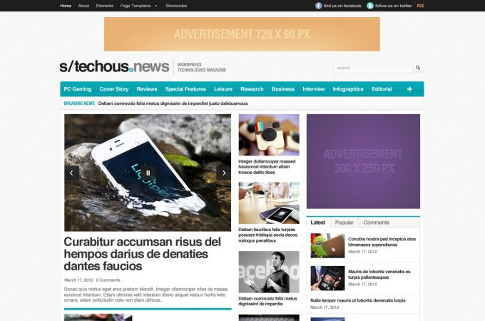 Technology WordPress Theme - TechMag