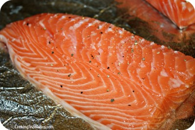 Herb Mustard Glazed Salmon - Salmon