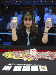 2007 WSOP Europe Winner Annete Obrestad