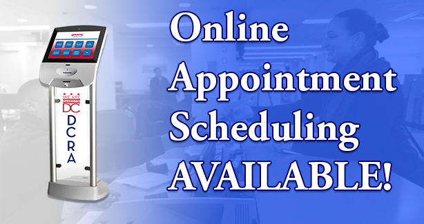 Online Appointment Scheduling Available!