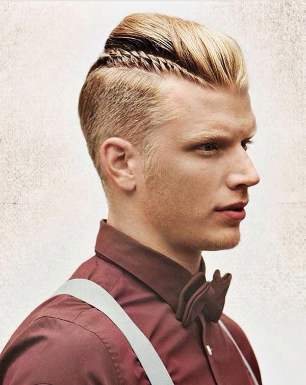 Tóc nam ngắn cạo hai bên đẹp kiểu Pháp cho chàng lịch lãm 2016 phần 8