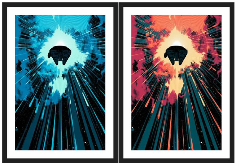 'Jump Into Hyperspace' by Matt Taylor for Bottleneck Gallery