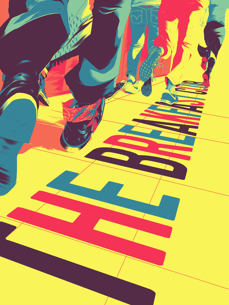'The Breakfast Club' by Matt Taylor for Mondo