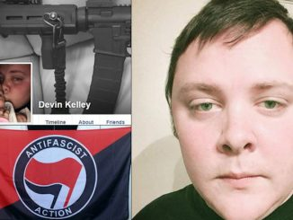 The gunman who shot up a church in Sutherland Springs, Texas, is Devin Kelly, an Antifa member who vowed to start a civil war.