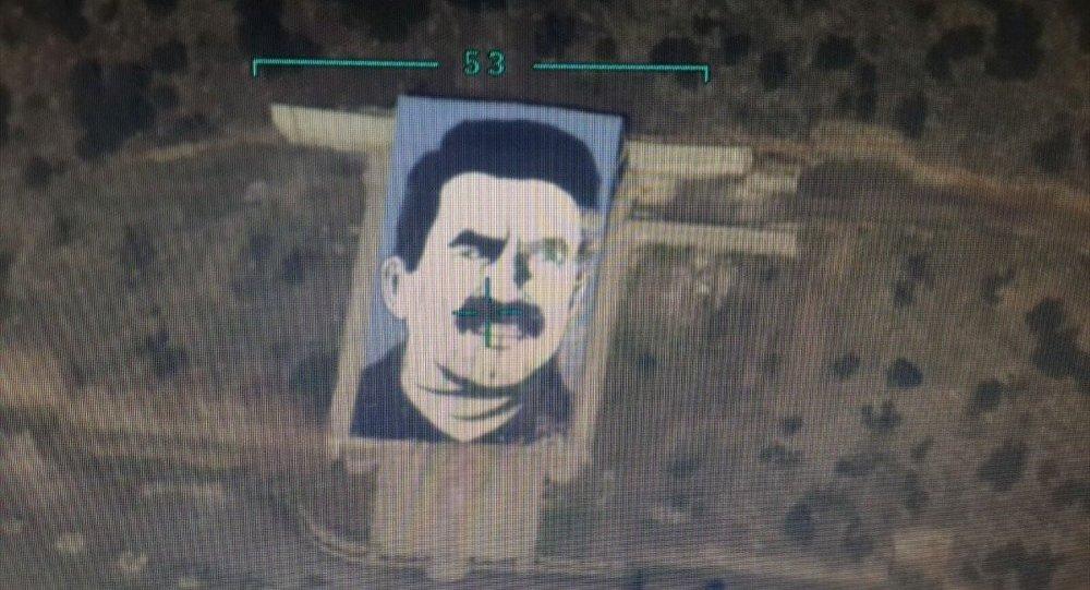 Afrin'deki 'Öcalan Anıtı' bombalandı