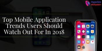 mobile app trends 2018