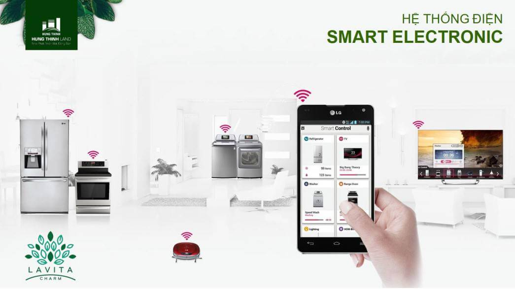 Hệ thống Smart phone Lavita Charm