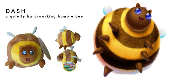 The Emotionals™, Dash™, The Hard-Working Bumble Bee, Plush