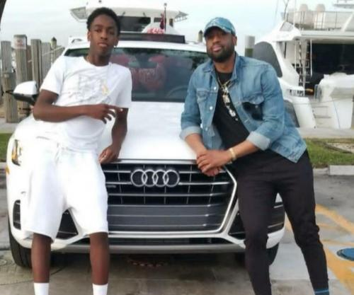 Dwyane Wade gifts son Audi for 16th birthday
