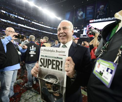 Philadelphia Eagles fans in a frenzy after win in Super Bowl LII