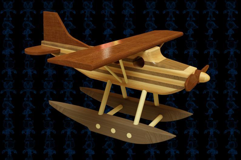 直升飞机3D打印玩具定制
