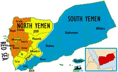Political Divisions of Yemen