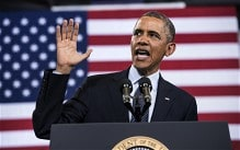 Barack Obama warns American dream is in danger of becoming a 'myth'