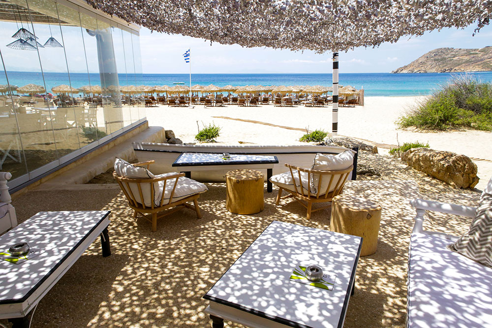 Elia mykonos beach bar