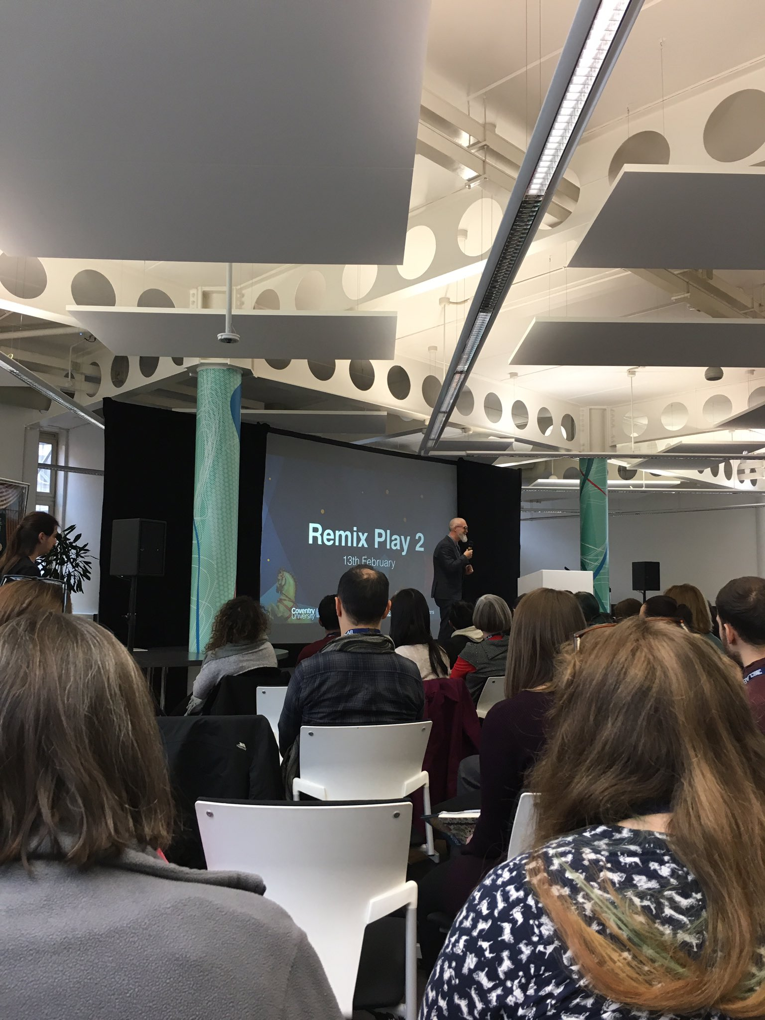 Staff from LTI attending #RemixPlay2 conference @disrupt_learn . Looking forward to sharing and applying newly acquired playful learning skills!  @Grldn_Jellybean @MolnarAggie @SarahNeyUK https://t.co/AXQgHMdiI6