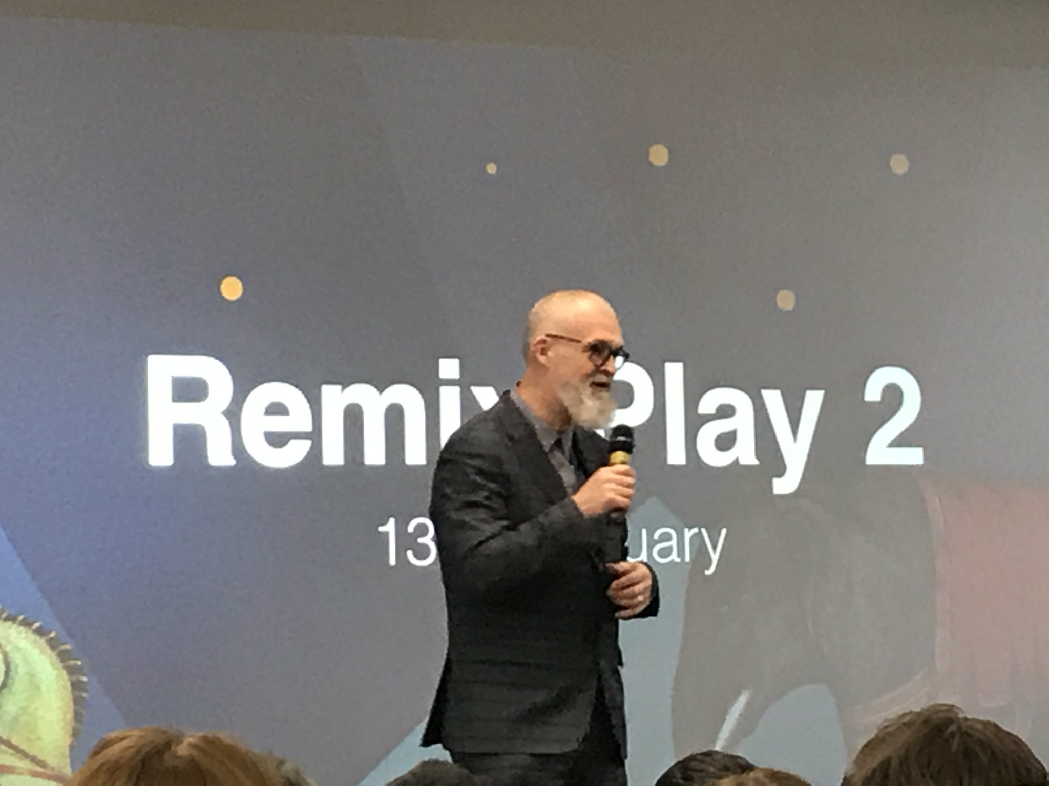 .@CovPVCStudents introduces #RemixPlay2 in the @disrupt_learn lab https://t.co/CuFuu9TROT