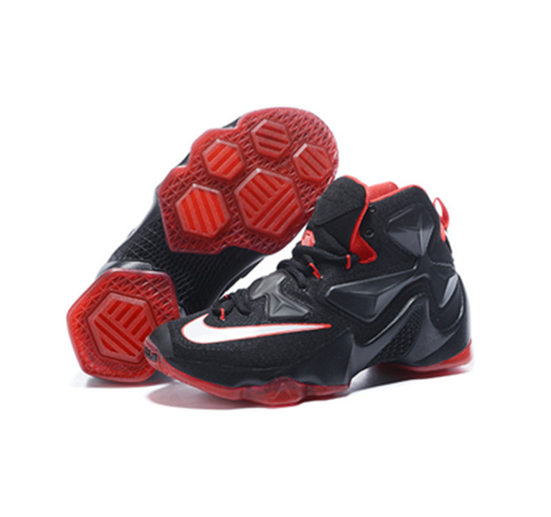 Nike Lebron James 13 Basketball Shoes black red