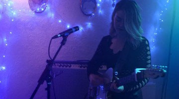 Honeyblood playing in still from video for 'Sea Hearts'