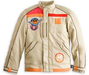 Finn's pilot jacket