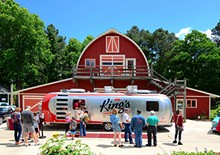 King's Sandwich Shop Reinvents 1950s Durham Fare in a Shiny New Airstream Trailer