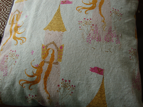 rapunzel heather ross fabric