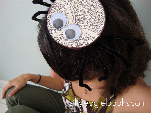 bottle cap spider pillbox hat