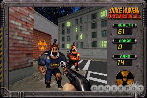 Duke Nukem's short levels feel more like deathmatch arenas.