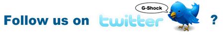follow my g-shock on twitter - twitter.com/mygshock