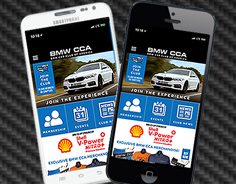 Download the BMW CCA Events App