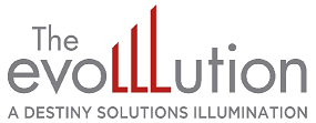 Evolllution Logo, click to return to homepage