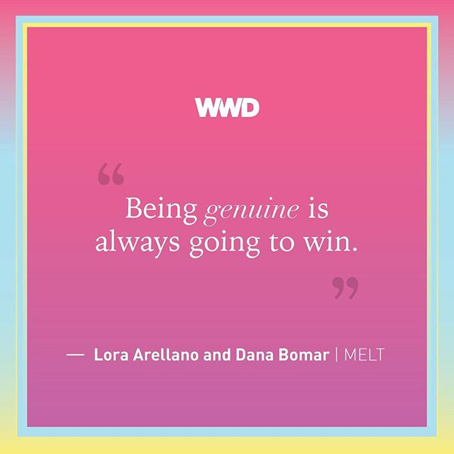 @meltcosmetics cofounders @lora_arellano and @danabomar built their brand on a single idea: a true matte lipstick. To set the brand apart, they said they always put their customers first –– including a personalized note in each package. #wwdsummits #wwdbeauty