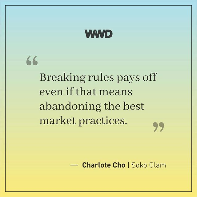 @sokoglam's @charlottejcho believes in an education-first philosophy, which means empowering women with the knowledge they need to have confidence in their skin. #wwdsummits #wwdbeauty