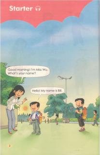 小学一年级英语朗读:预备篇(人教版)