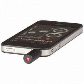 Laser Jack - Plug-in Laser Pointer for iPod®/iPhone® with App